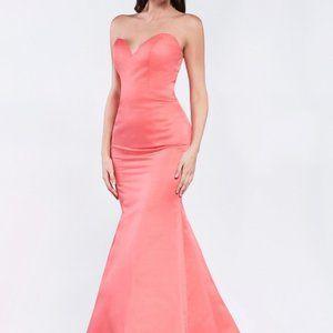 Strapless Mermaid Shape Prom Dress CDCK36